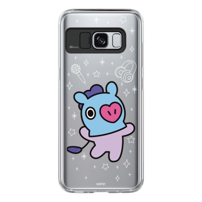 BT21 Galaxy S8 / S8 Plus 망 라이팅 케이스 (Soft 타입)