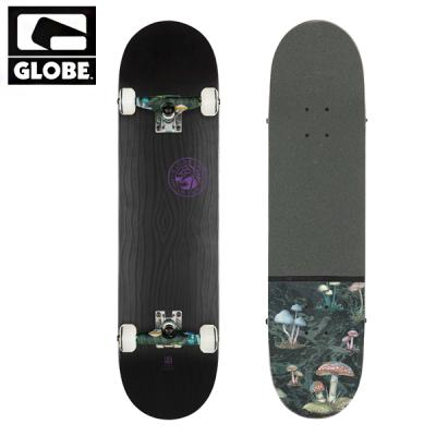 [GLOBE] RAISED BLK ON BLK COMPLETE 7.75 (풀사이즈)