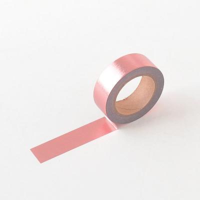 왈가닥스 포일 마스킹테이프 - 252 Rose Gold