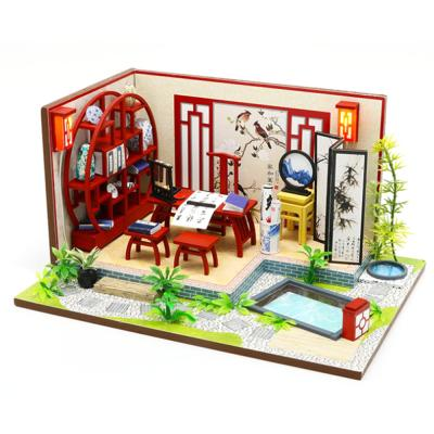 [adico]DIY 미니어처 하우스 - 서예