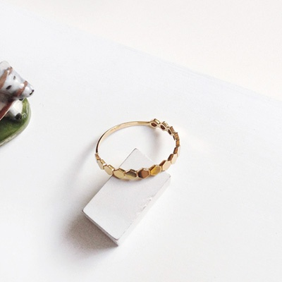 14k gold hive simple ring (1~13호)