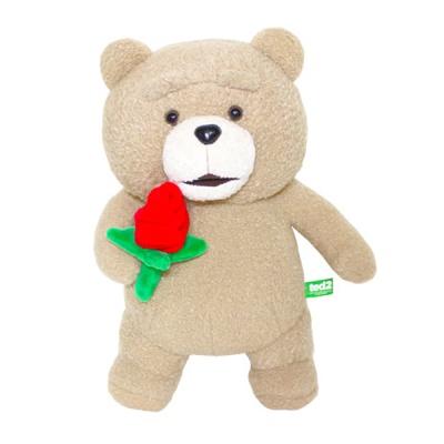 19곰 테드 인형 발렌타인데이 스페셜 장미꽃 30CM