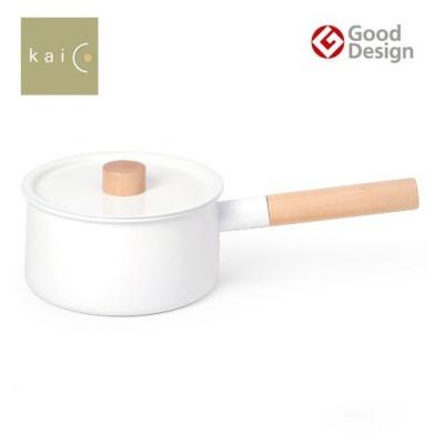 일본 kaico 카이코 법랑 편수냄비
