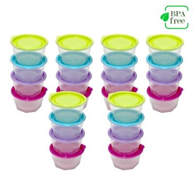 BPA프리 전자렌지용 원형용기350ml 10개입