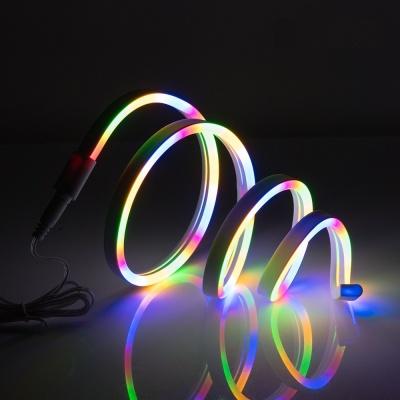인테리어 LED 튜브 조명 줄네온 / RGB 1미터 LCBB976