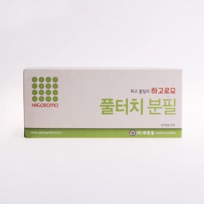 하고로모 분필 - 탄산 연두 1박스 18통 (1,296本)