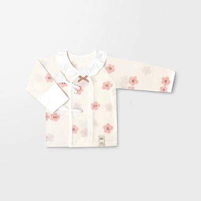 [메르베] 벚꽃 신생아배냇저고리_여름용