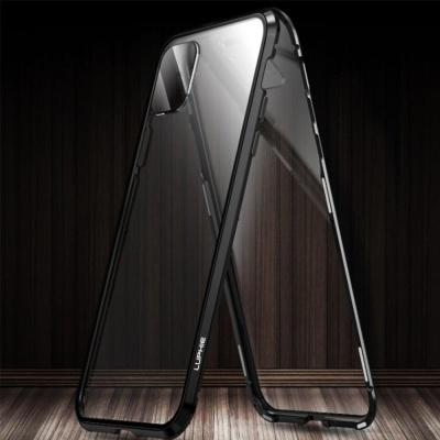 아이폰11 프로 맥스 마그네틱 메탈 범퍼 풀커버케이스