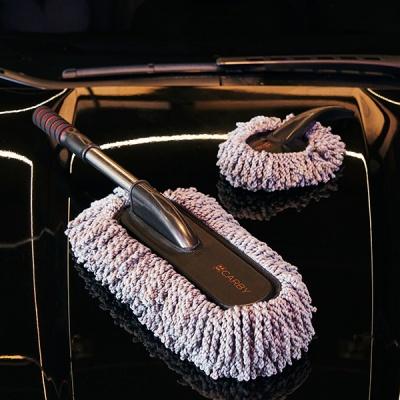 무로 카바이 차량용 극세사 먼지털이 세트