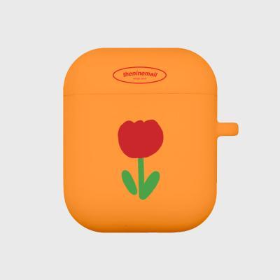 베이비튤립 에어팟 케이스[orange]