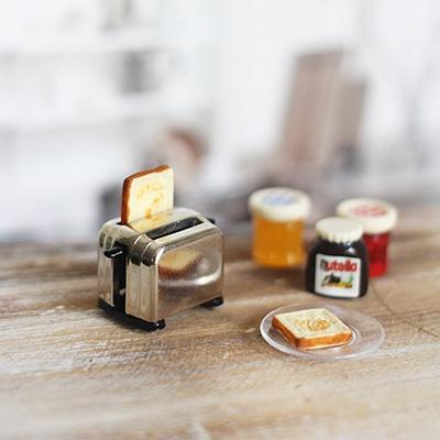 [콩지] 미니어쳐 토스트기 Set