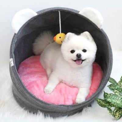패리스독 병아리 크래들 - 그레이 강아지 하우스