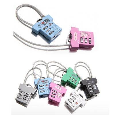 [트래블이지]자물쇠 티셔츠형 (색상랜덤)NO.0029
