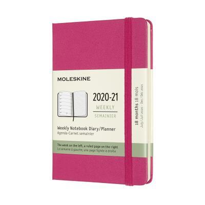 몰스킨 2021위클리(18M)/부겐빌레아 핑크. 하드 P