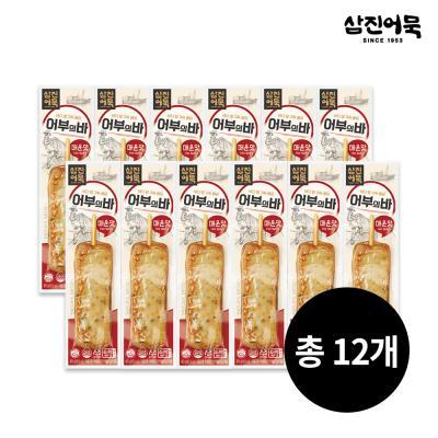 [삼진어묵] 어부의 바 (매운맛) 1개 80g x 12개