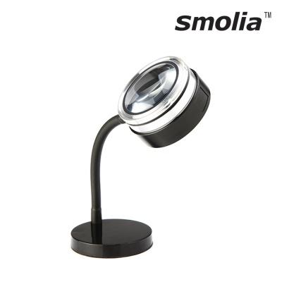 [일본3R정품] LED 보급형 돋보기+스탠드거치대