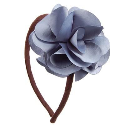 [헤어보우]Lovely Flower 헤어밴드-Blue