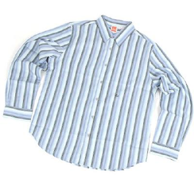 [eS] FARGO BUTTON-UP L/S SHIRTS (Blue)