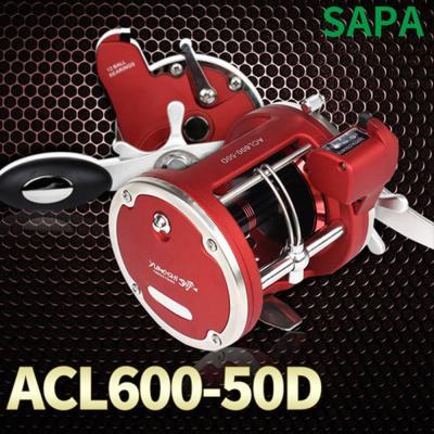싸파 ACL600-50D 장구통릴 12볼베어링 좌핸들바다낚시