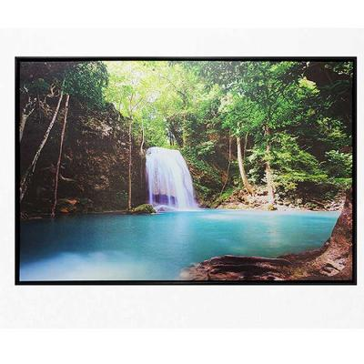 Home gallery CANVAS 포스터액자 푸른숲속의 폭포풍경