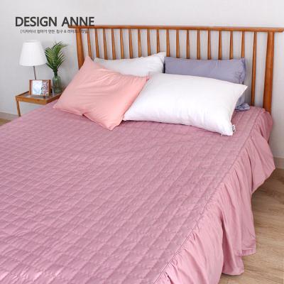 [디자인엔] 알러지케어 모던 침대스커트SS-핑크
