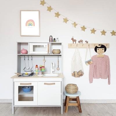 파스텔 레인보우 - 아이방 홈데코포스터