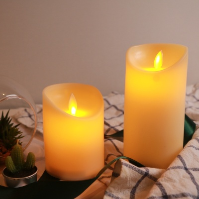LED 촛불 초 2size 건전지 가짜 캔들 꺼지지않는 양초