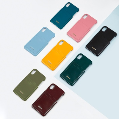 FENNEC LEATHER IPHONE X/XS CARD CASE