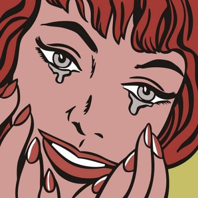 [DIY명화]A111 팝아트 행복한눈물 size 60*60cm대형