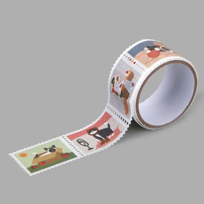 마스킹테이프 : stamp - 17 Daily cats