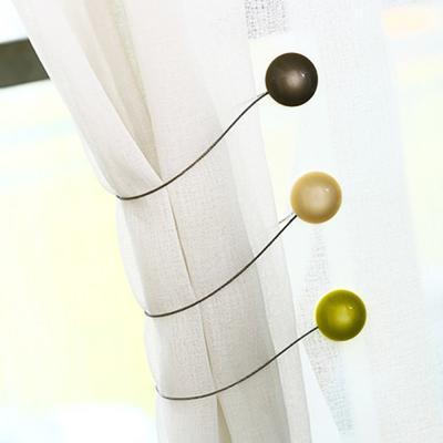 마그네틱 커튼 고정 타이 홀더 집게 장식 액세서리