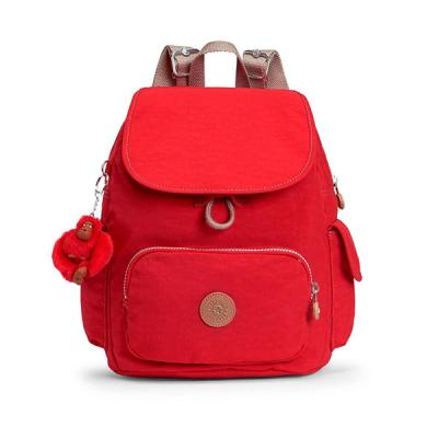 키플링 CITY PACK S Small backpack True Red C