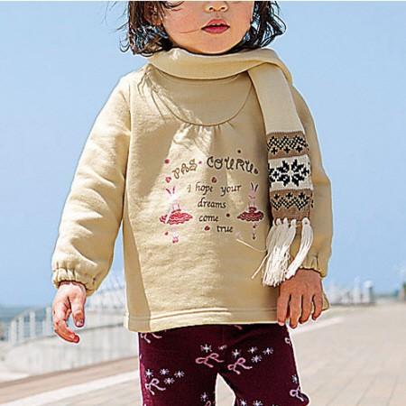 (귀여운 일본 아동복) 트레이너 (女の子用)300006