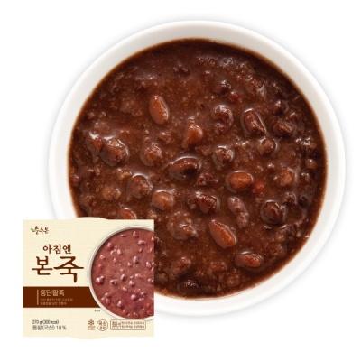 (본죽/무료배송)아침엔본죽 단팥죽 270g x 5개