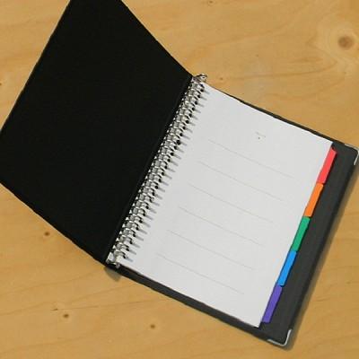 [KOKUYO] 금속링이 장착된 B5 합지 루스리프 화일-일본 고쿠요 26공 바인더노트 Color Palette HC143