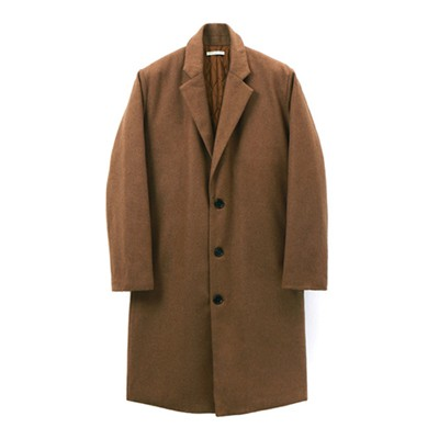 Oversize Wool Padding Coat_Camel