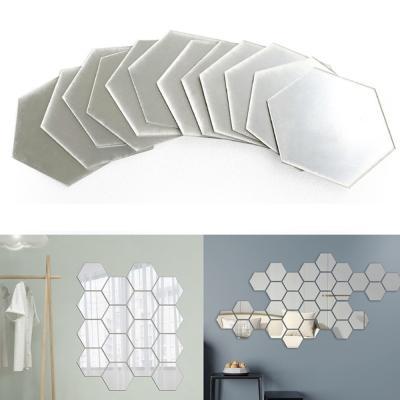 인테리어 아크릴 거울 16조각 스티커거울