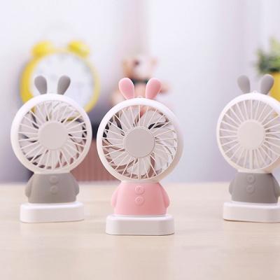 플라이토 토끼 휴대용 LED 미니 선풍기