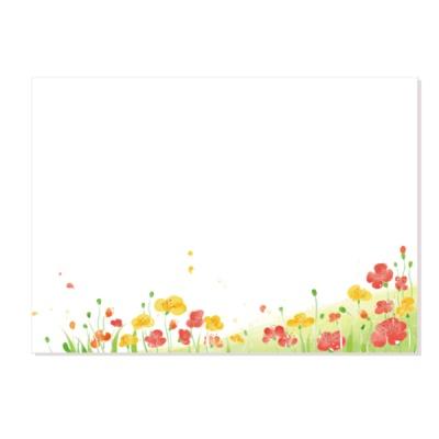 캘리그림엽서-꽃밭에서(10장)