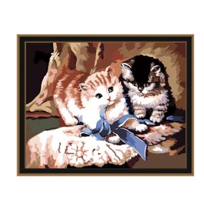 DIY 명화그리기 [ 귀여운 고양이 ] - 40cm*50cm