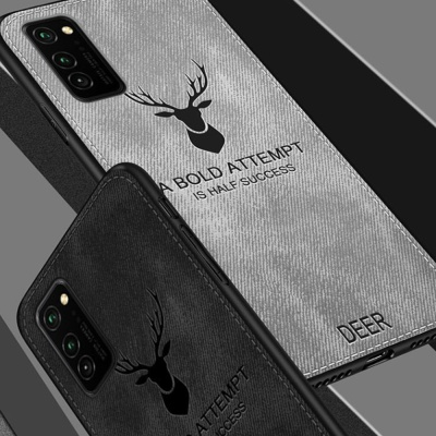 갤럭시노트20 울트라/사슴 패브릭 범퍼 휴대폰 케이스