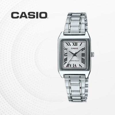 카시오 아날로그 메탈 여성 손목시계 LTP-V007D-7B