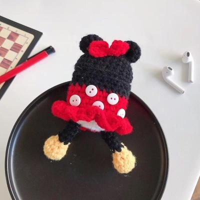 철가루스티커/에어팟 젤리 뜨개케이스 1 2_리본쥐 442