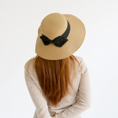 SW-4 베이직 리본 왕골햇 / 왕골모자 / 라탄 모자