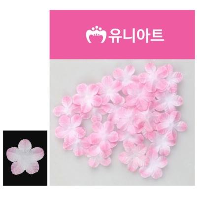 유니아트 싸리꽃 백색 분홍 꾸미기 장식 조화꽃
