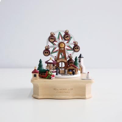 우더풀라이프 오르골 CHRISTMAS MARKET