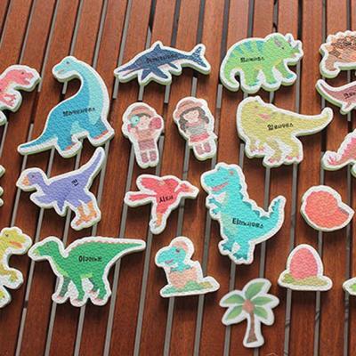 베베포레 물놀이 스티커 목욕놀이 (공룡한글)