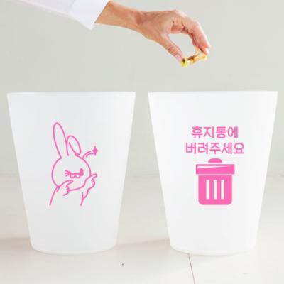 ta521-토끼휴지통_그래픽스티커