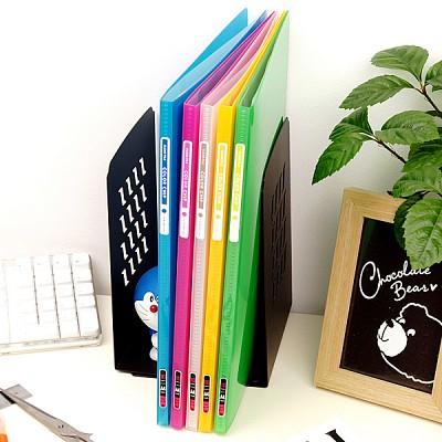 밋밋함은 가라~속지 10매 장착 A4 Glossy 클리어화일-청운그린화일 Color Chip HB181