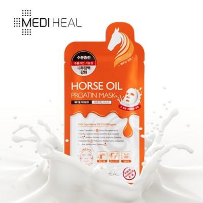 [메디힐]  윤광 마유 프로아틴 마스크팩 1매 / 수분가득 단백질 마스크